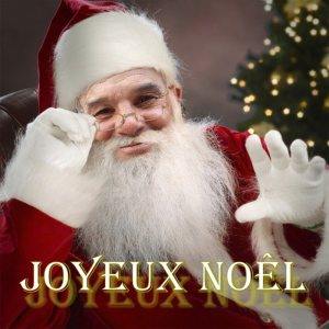 joyeux noel pere noel leo