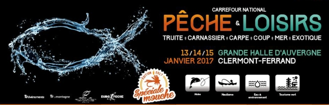 Carrefour international de la Pêche de Loisirs à Clermont 2017