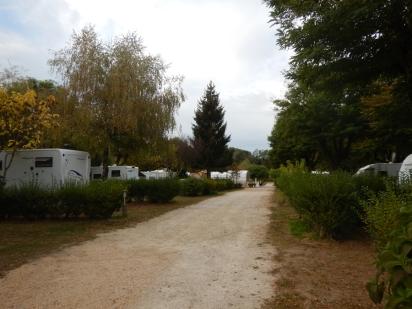 la zone des camping caristes