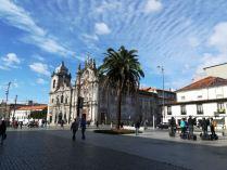 L'église des Carmélites à Porto
