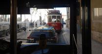 sur la même voie, Bus, Taxi et Tramway