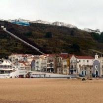 Nazaré panoramique vue de gauche