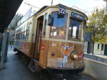 Antique tramway des années 1920