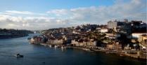 Vue sur le quartier de la Ribeira (Porto)