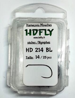 Hameçons HDFLY 214 BL