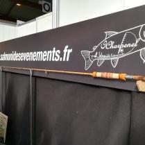 Canne en bambou réalisée par Hervé Charpenel