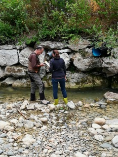 Analyse de l'eau avec Marcel