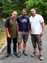 Pascal, Fabien et Adrien