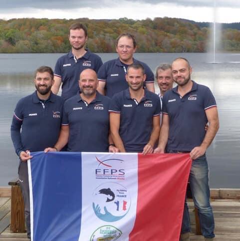 © photo du Staff de l' équipe de France publiée avec l'autorisation de Grégoire Juglaret.
