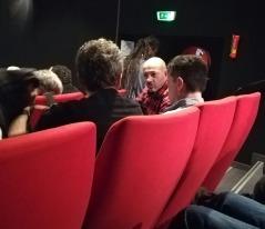 Yann Caleri à droite et Philippe et Jean Christophe du club mouche du cea Grenoble