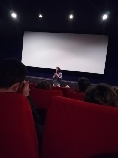 Philippe Crouzet annonce le début de la projection