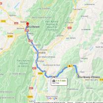 La Buisse - Bourg d'Oisans 68,7 km