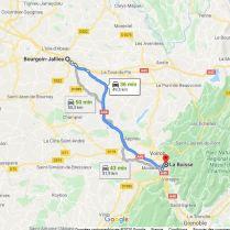 La Buisse - Bourgoin 51,9 km