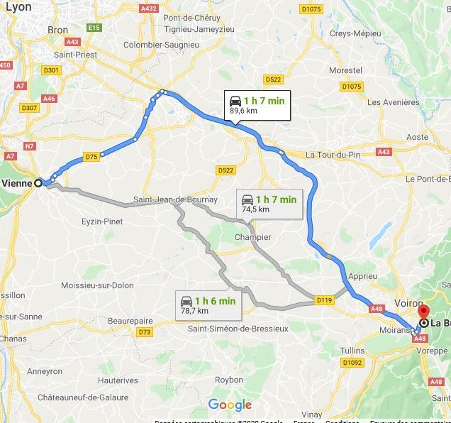 La Buisse - Vienne 78.7 km