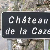 panneau chateau de la caze